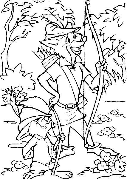 disney robin hood coloring pages skippy | 22 best Robin Hood images on Pinterest | Coloring books ...