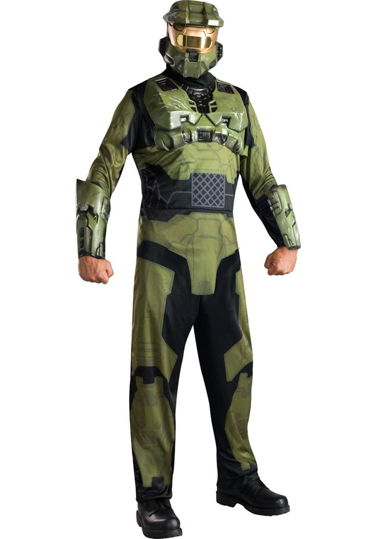 Master Chief Costume, Halo 3? Computer Game Fancy Dress - Superhero Costumes at Escapade