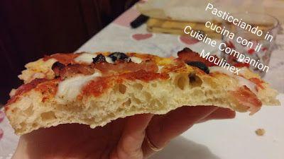 Pasticciando in cucina con il Cuisine Companion Moulinex: Pizza 90% idratazione