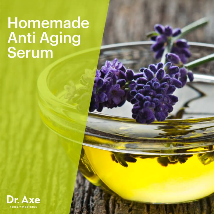 Homemade Anti Aging Serum - Dr.Axe Finally a serum that uses both evening primrose and carrot seed oil.