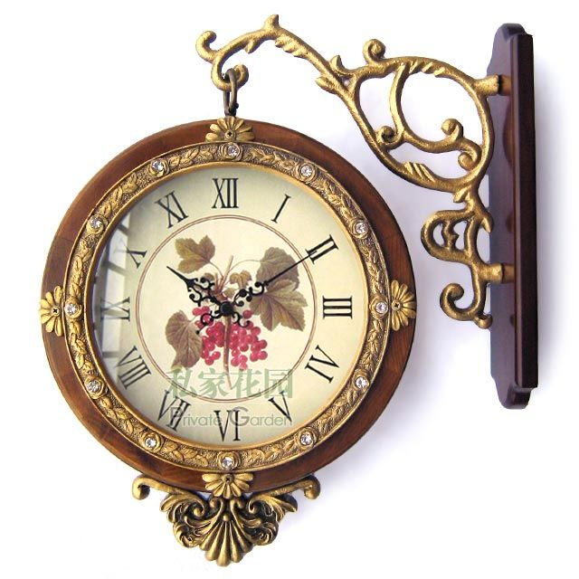antique clocks | Antique Clock (cw109) - China clock, garden clock