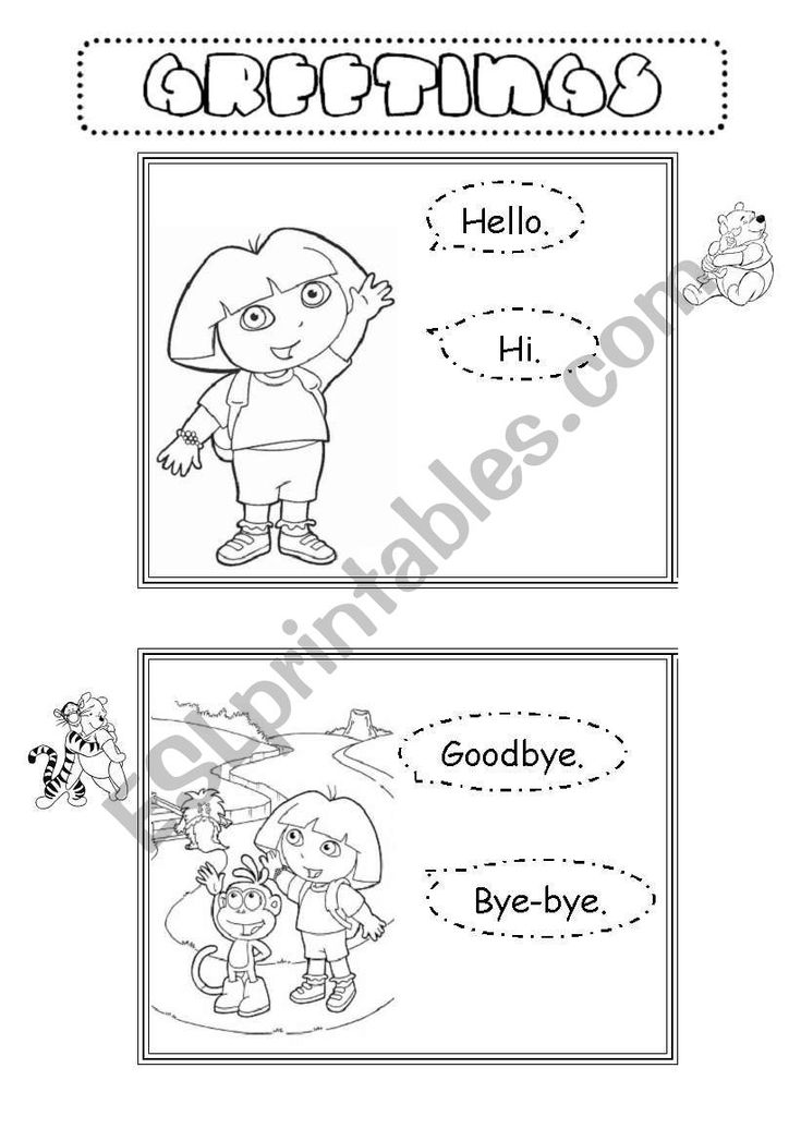 these flashcards can be used to teach greetings they show