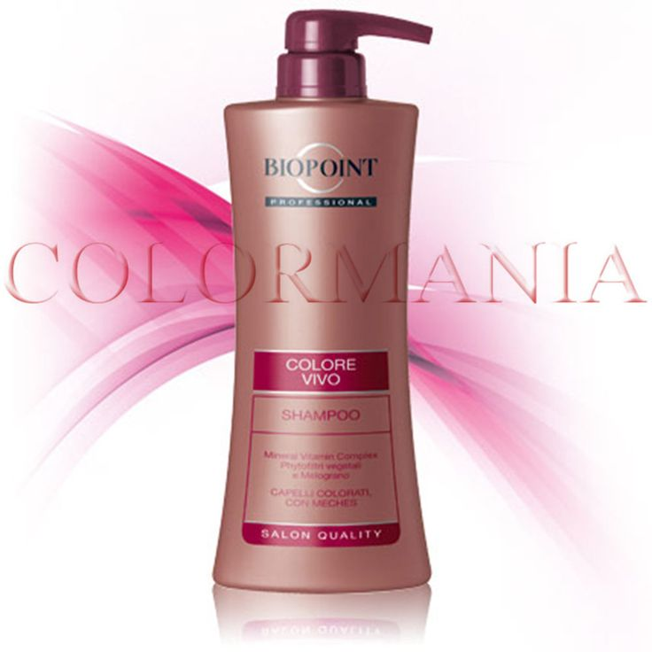 BIOPOINT PROFESSIONAL SHAMPOO COLORE VIVO CAPELLI COLORATI CON MECHES 400 ML