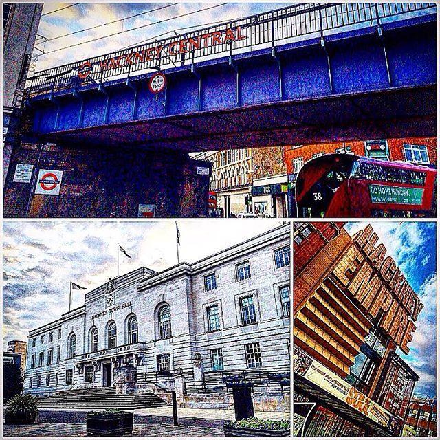 Hackney , London , UK . • Photo : Hackney Central Station , Hackney Empire and the Town Hall . • • #Miles7one #wanderlus7 #nx7 #hackney #london #thisislondon #igerslondon #iglondon #visitlondon #ilovelondon #uk #ldn  #igers #igdaily #instagram #igers #igdaily #instagram #travel #traveltheworld #travelgram #traveling #travelling #travels #travelblog #instatravel #travelingram  #traveler #traveller