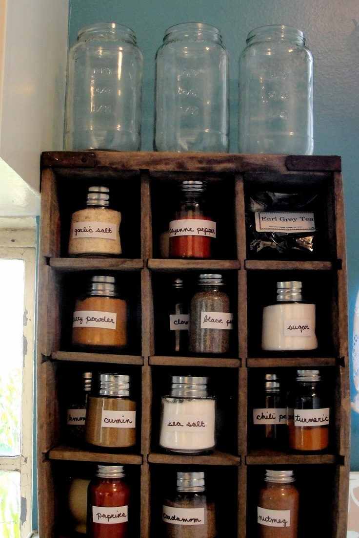 Neat use of an old coke crate.  I know we have one around here somewhere...