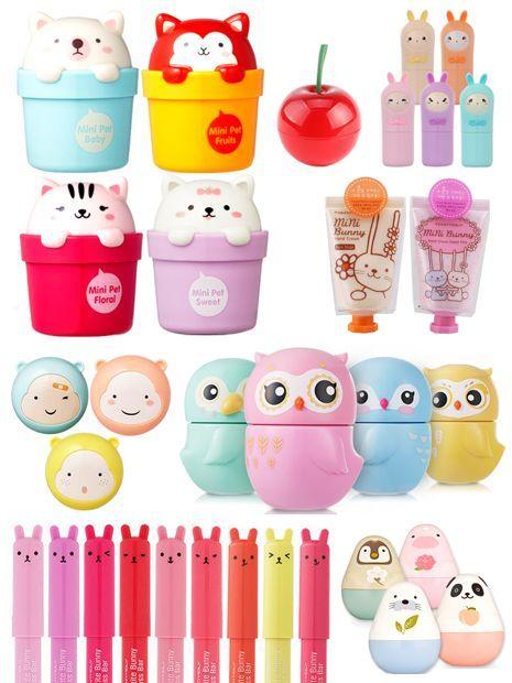 kawaii products | Kawaii | Products I Love  @hautecards: cute Kawaii animals with foxes, owls, bunnies, seals, kitties in bright pop colors