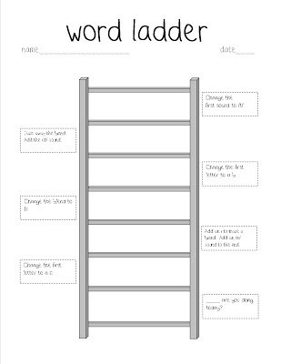 Printables Word Ladder Worksheets 1000 images about word ladders on pinterest free printable ladder with ow sound