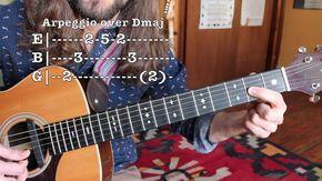 Lead Guitar Lesson - Arpeggios, Scales and Transposition - Advanced Solo...