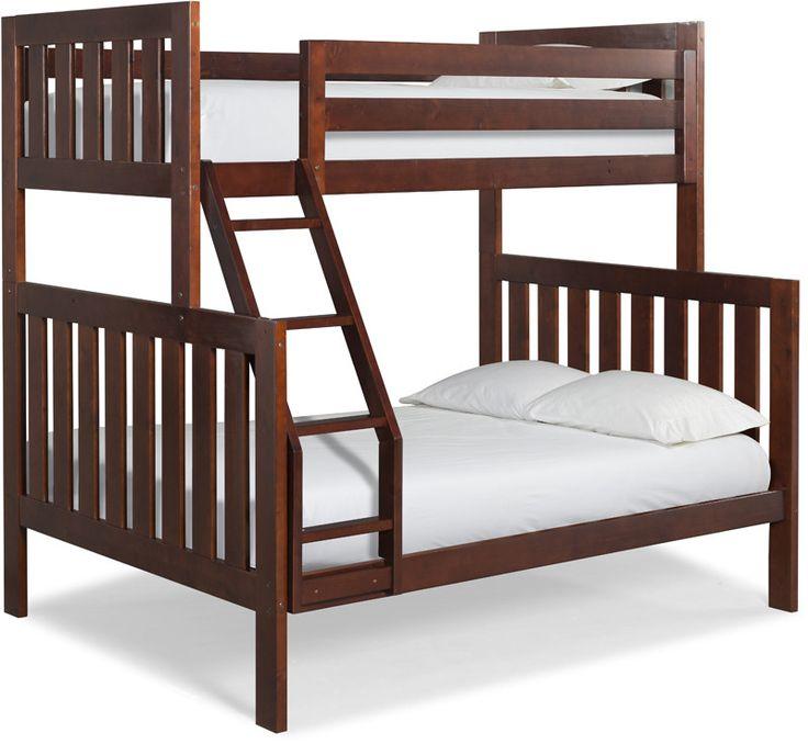 Canwood 25044 lakecrest twindouble bunk bed bundle