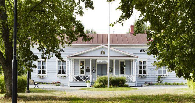 Villa Hakkari, Lempäälä. Päärakennus ulkoa