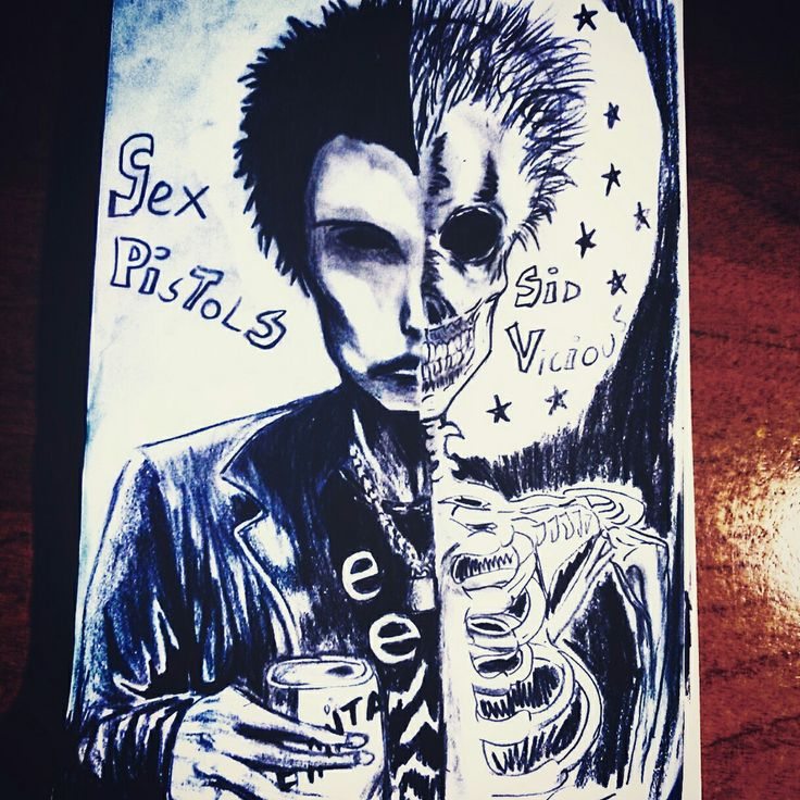 Sid Vicious from Sex Pistols #SidVicious