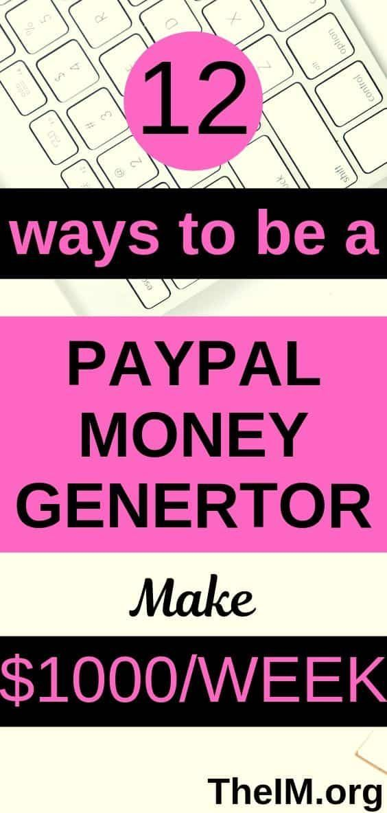 Top 12 Ways To Be A Paypal Money Generator At Your…