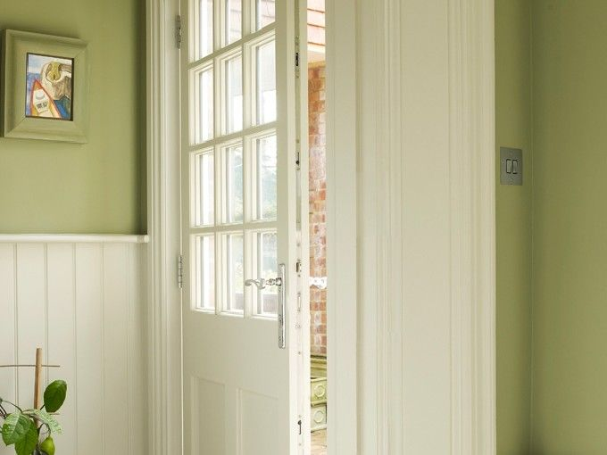 Beautiful, timber #FrontDoor manufactured and installed by The Sash Window Workshop