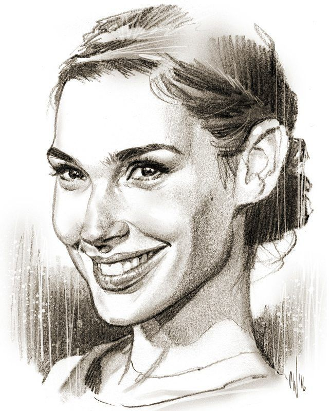 "4,003 Likes, 35 Comments - Chris Wahl (@mrwahl) on Instagram: ""Here's the finished Gal Gadot sketch from last night's video #galgadot #sketch #drawing…"""