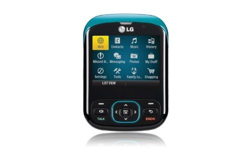 LG Remarq Prepaid Phone, Turquoise (Kajeet) Slide-out QWERTY keyboard. Text and MMS (multimedia) messaging. 1.3 megapixel camera. Built in MP3 player. microSD card slot supports up to 32GB card(sold separately) to hold thousands of songs and pictures. 2.5-inch TFT LCD display. Slide-out QWERTY keyboard; Text and MMS (multimedia) messaging.  #LG #Wireless