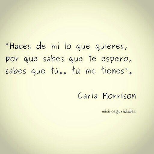 Carla Morrison.