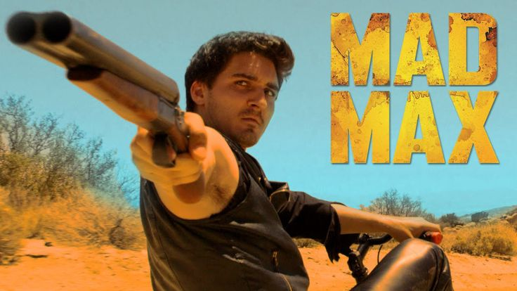 Max Rides a Tricycle While Battling Outlaws in the Comedy Sketch 'Mad Max: Out of Gas'