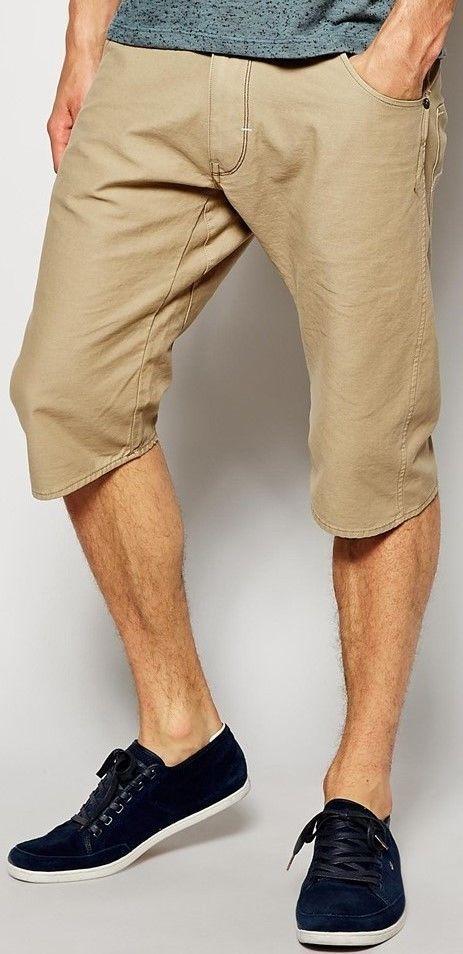 20c17d520c1 NWT G-Star Raw Men's Arc 3D Loose Tapered Bermuda Shorts Grege   eBay