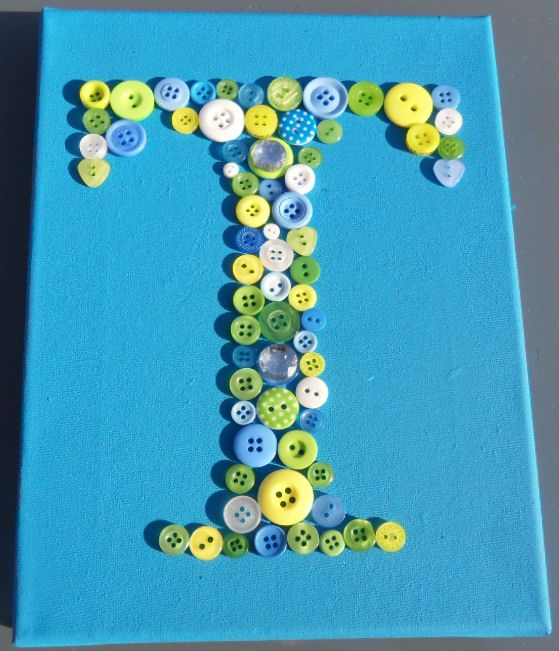 Buttons letter