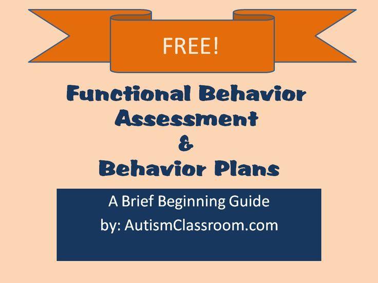 7 best BA images on Pinterest Aba training, Applied behavior - functional behavior assessment