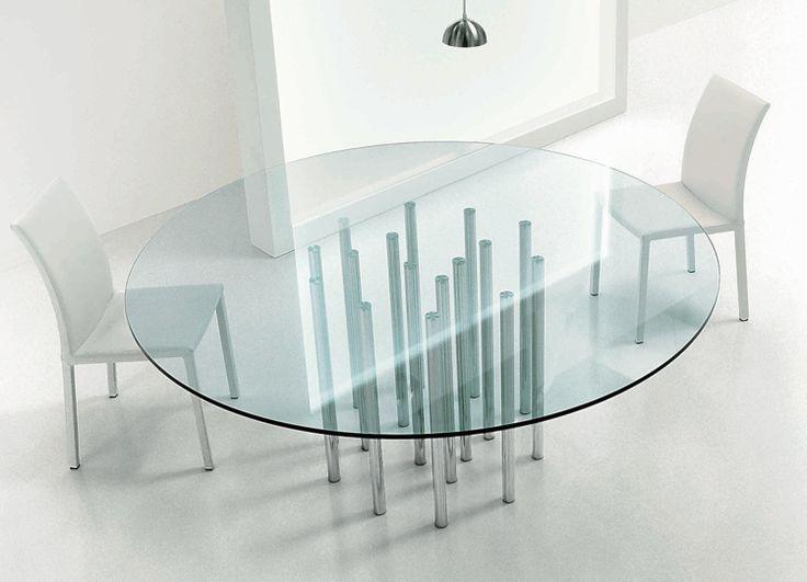 Attractive Bonaldo Mille Round Dining Table By Bartoli Design   Chaplins