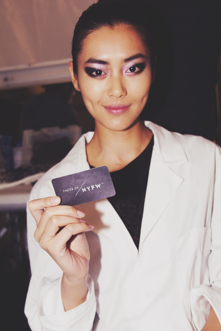 Liu Wen. Faces of New York Fashion Week