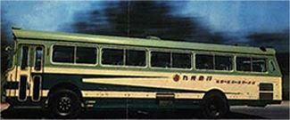 運行開始当初の西日本車体工業製の車体