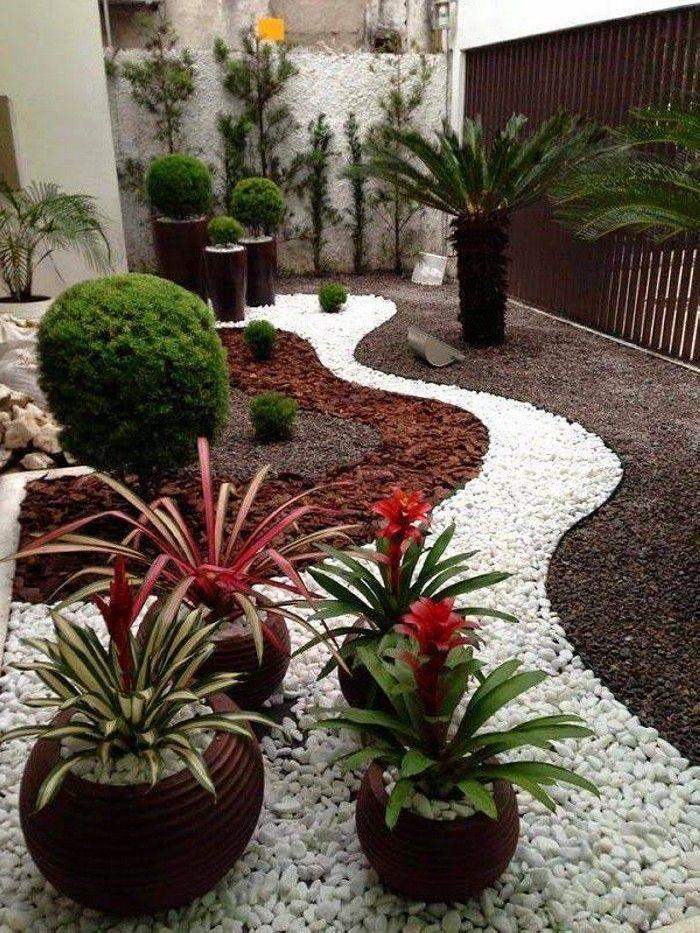 Angenehme 26 Wunderschonen Garten Deko Ideen Mit Steinen Garten