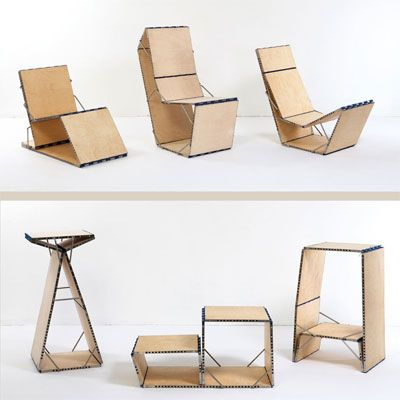 Photo: Hannu Kahonen | thisoldhouse.com | from Cleverest Space-Saving Folding Chair Designs