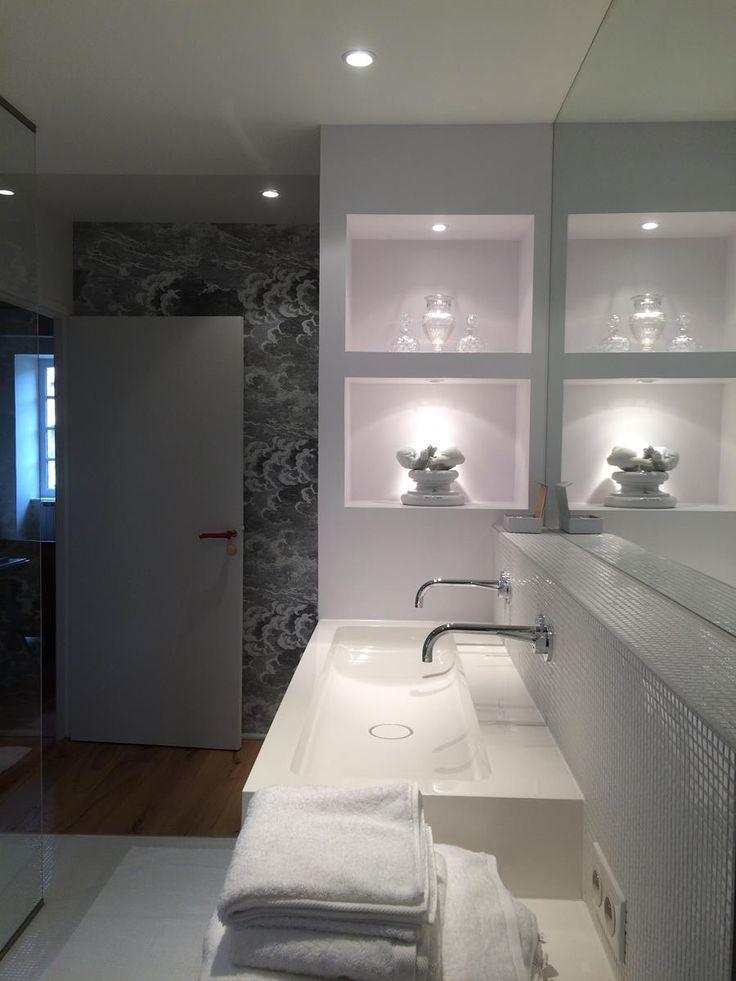 paroi de douche en verre feuillet anti calcaire avec une glace argent e d 39 paisseur 5 mm abm. Black Bedroom Furniture Sets. Home Design Ideas