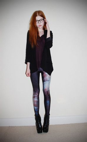 Galaxy pants, yes, no? I'll like them for now :)
