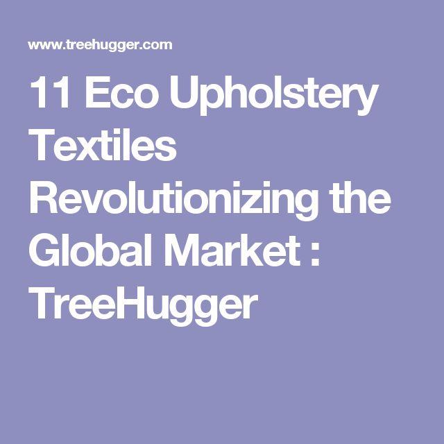 11 Eco Upholstery Textiles Revolutionizing the Global Market : TreeHugger