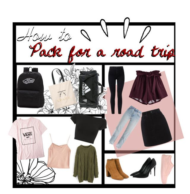 """""""Tip: Pack for a Road Trip"""" by nycheart05 ❤ liked on Polyvore featuring Old Navy, Vans, Chicwish, Helmut Lang, Alice + Olivia, rag & bone, J Brand, Vetements, adidas and Aquazzura"""