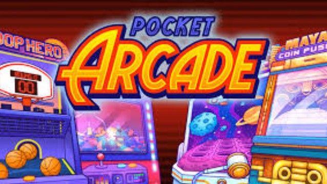 Pocket Arcade, raccolta arcade di 4 minigiochi da bar in stile vintage