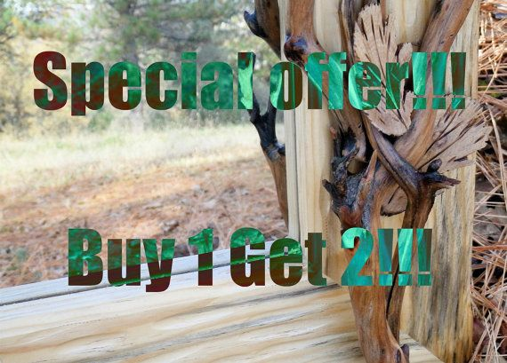 Buy 1 Get 2 Birthday Special Offer by HandCarvedByNature on Etsy, $0.20