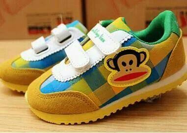 READY STOCK KIDS SPORT SHOES KODE : Sneakers PAUL FRANK Yellow Size 26-30 PRICE : Rp.155.000,- AVAILABLE SIZE (insole) : - Size 26 (16cm) - Size 27 (16,5cm) - Size 28 (17cm) - Size 29 (17,5cm) - Size 30 (18cm) Material : Suede mix Canvas,Sol karet,Bukaan velcro/prepet.  Utk usia -/+ 2-5thn Insole = panjang sol dalam sepatu. Ukur panjang telapak kaki anak, beri jarak 1,5cm dari insole.  FOR ORDER : SMS/Whatsapp 087777111986 PIN BB 766A6420 Facebook : Mayorishop  #pusatsepatubootsanak…