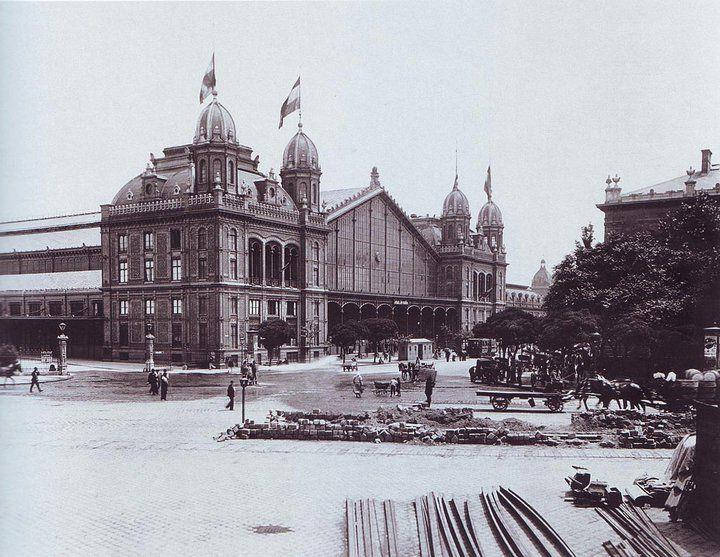 Nyugati pályaudvar 1896-ban