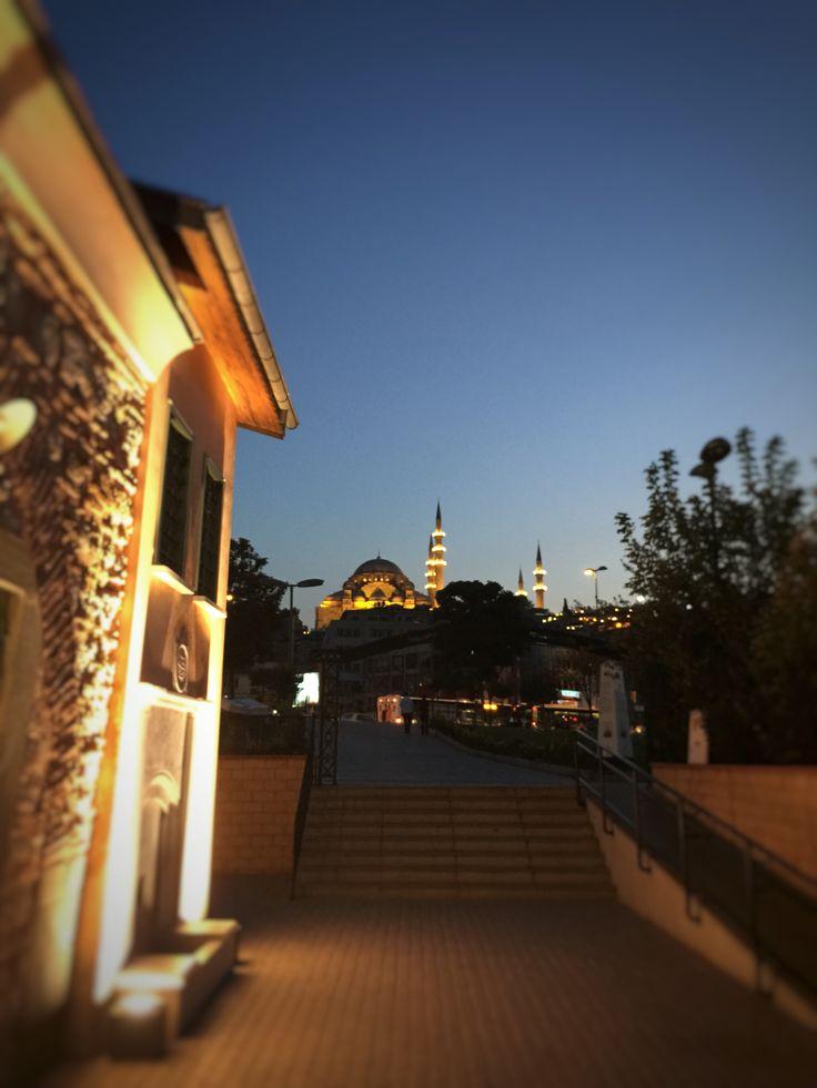 Uzaktan Süleymaniye Camii
