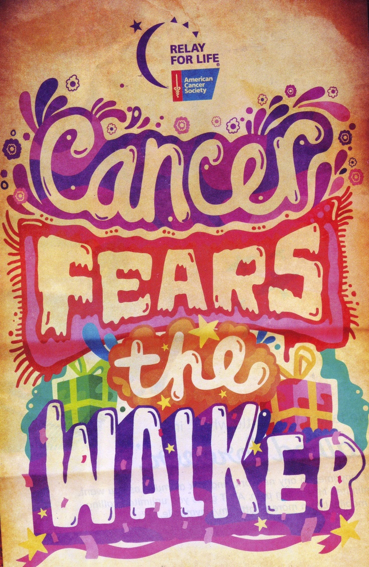 RELAY FOR LIFE: HELP WIPE OUT CANCER