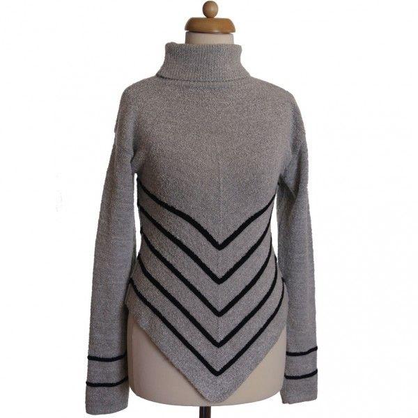 Használtruha webáruház ruhaaréna.hu | Szürke női pulóver - Pulóver - Női divat | Válogatott használtruha