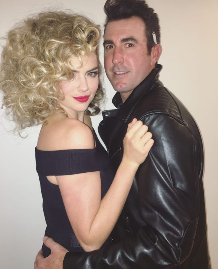 Kate Upton and Justin Verlander as Grease's Sandy and Danny - The Best Celebrity Couples Costumes to Copy this Halloween - Photos