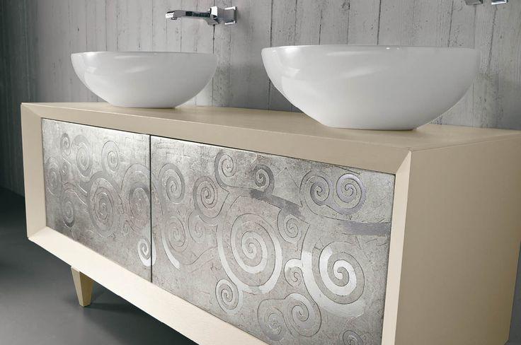 Tosca Collection - argento  | italian bath design eban | #ioscelgoeban