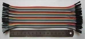 DuPont 40 P 1 P DIP двойной цвет пластик длина раковины 20 СМ 4012 многожильный медный провод подряд