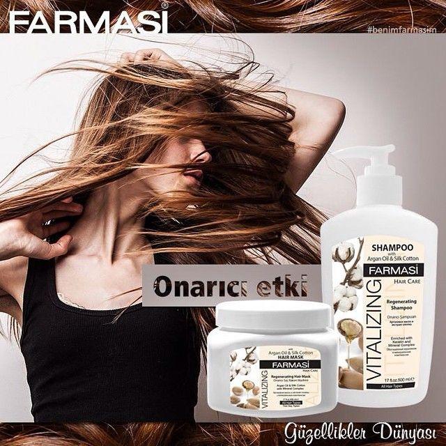 Farmasi'nin onarıcı etkili Argan Yağlı Bakım Maskesi ve Şampuanı ile saçlarınızdan geçmişin izlerini silin!   #farmasi #benimfarmasim #arganyagi #argan #bakim #maske #sacbakimi #sampuan #kisiselbakim #arganyagi #bakimmaskesi #onarici #sac #hair #care #haircare #beauty #worldofbeauties #guzellik #guzelliklerdunyasi