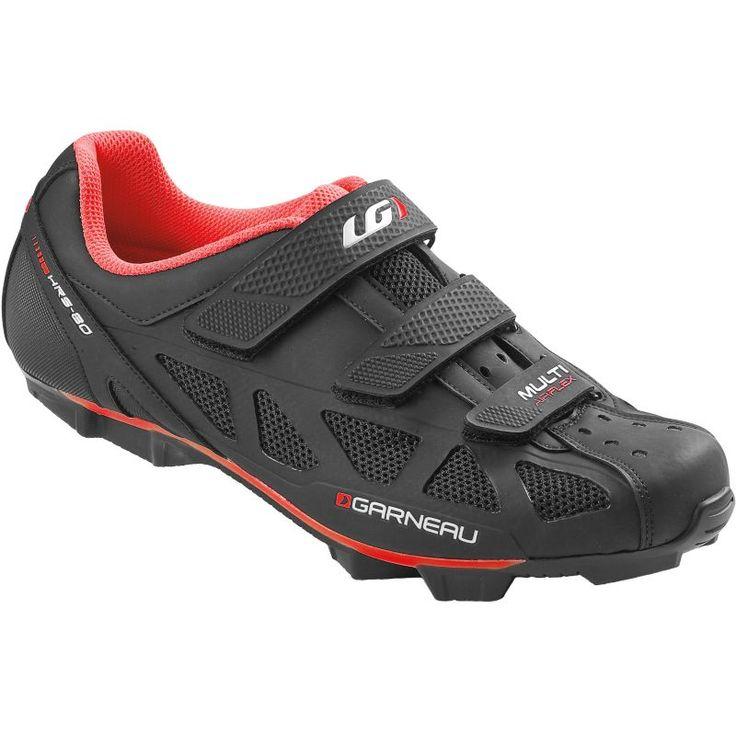 Louis Garneau Men's Multi Air Flex Cycling Shoes, Size: 46, Red