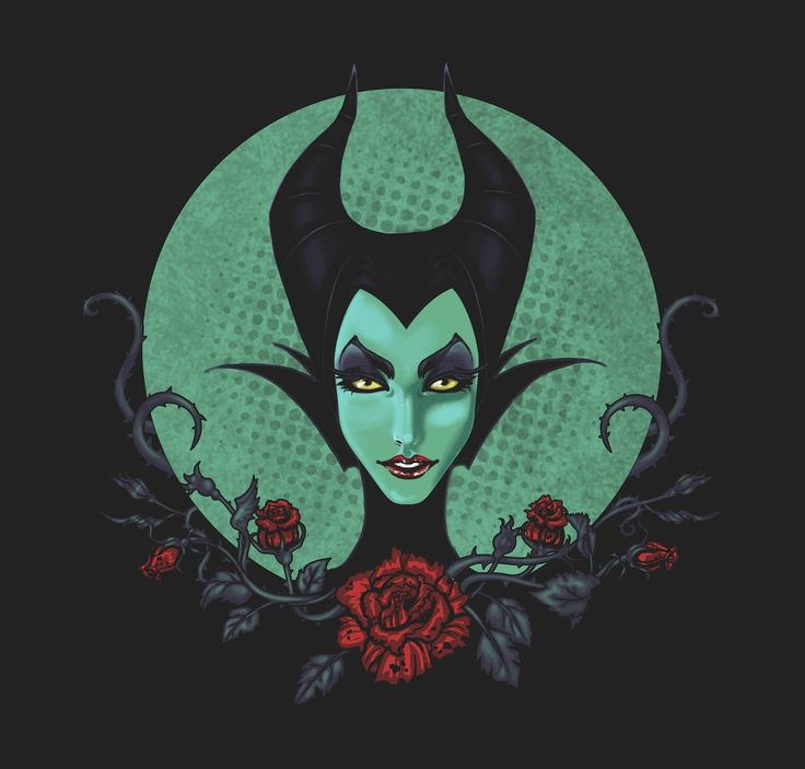 """seriously contemplating getting a """"Malificent"""" tattoo"""