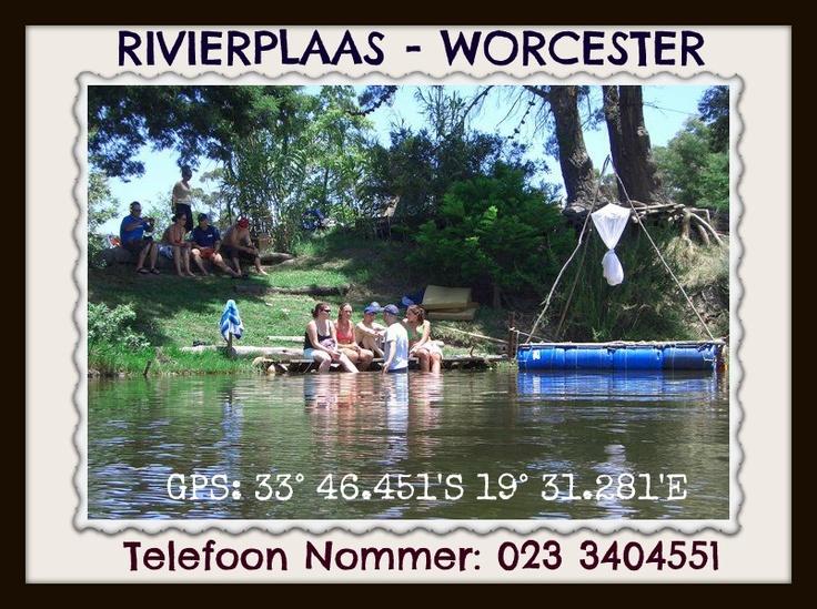 Rivierplaas - Worcester  www.lekkerkampplekke.co.za