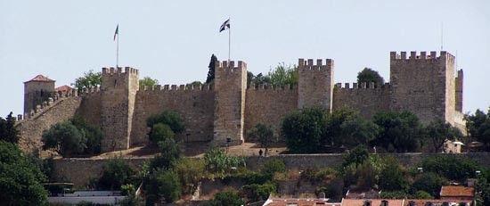 Castelo-sao-jorge-Lisboa, Portugal