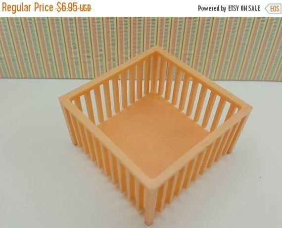 Century sale 30% Marx Disney Play pen baby nursery peach pink Traditional Dollhouse Toy Furniture Hard Plastic
