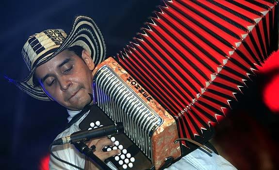 Vallenato is typical folk music from La Guajira, Colombia